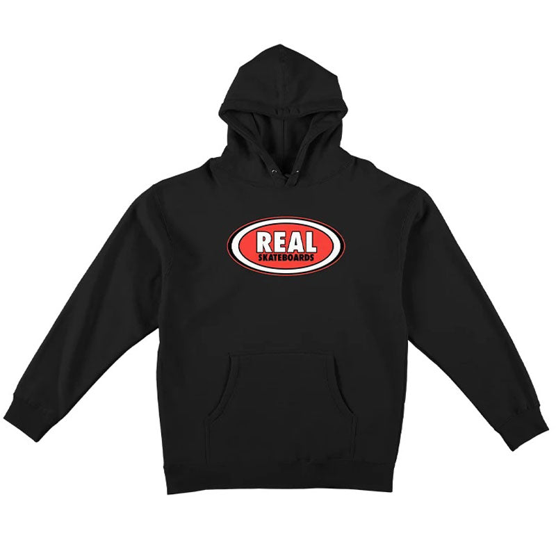 REAL Skateboards Oval Pullover Hoodie