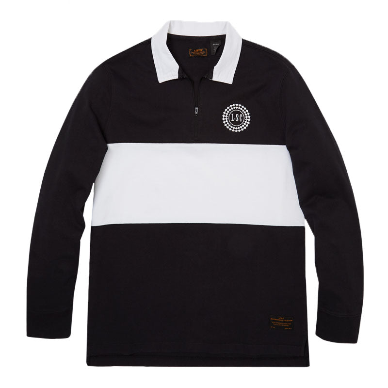 Levi's Skate Rugby Half Zip Polo Shirt