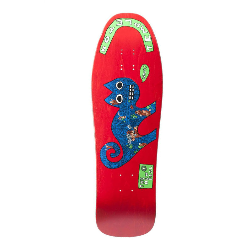 "New Deal Ed Templeton Cat 9.75"" Deck"