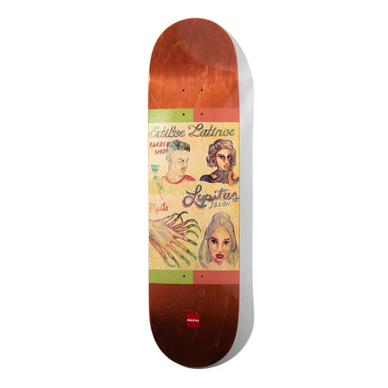 "Chocolate Skateboards Stevie Perez Cuts 8.375"" Deck"