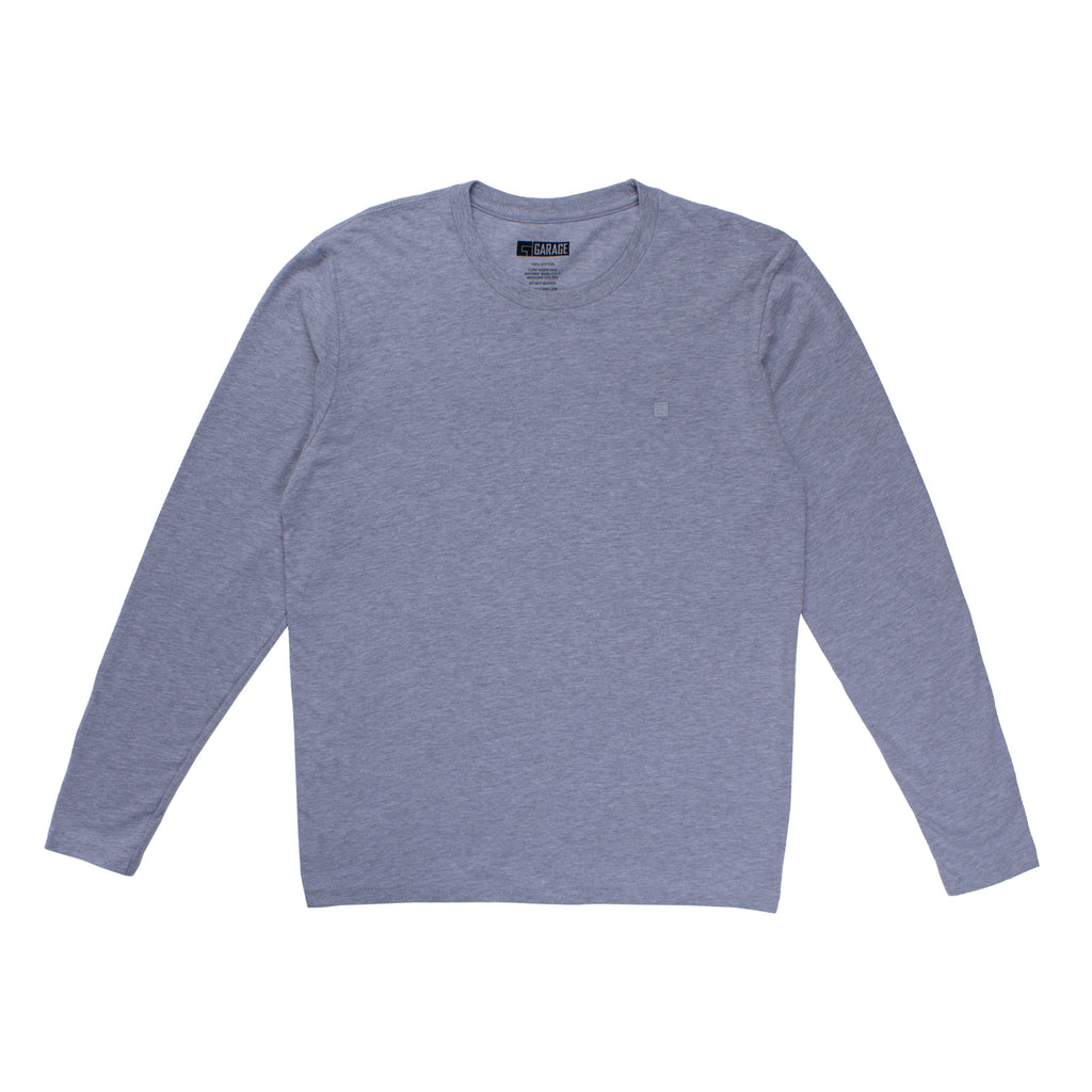 Garage Skateshop Plain G L/S Tee