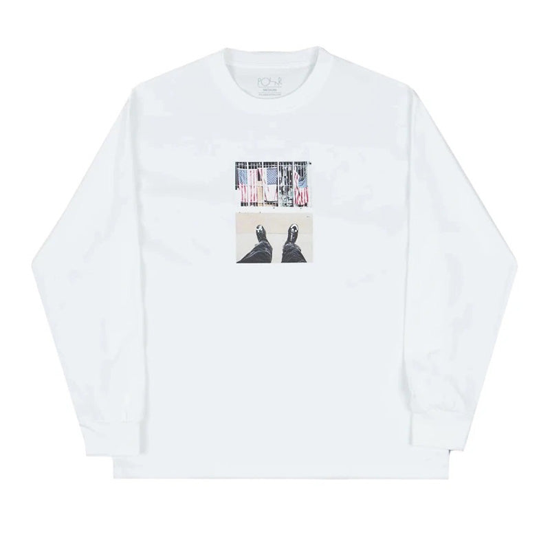 Polar Skate Co. Happy Sad Around The World L/S Tee