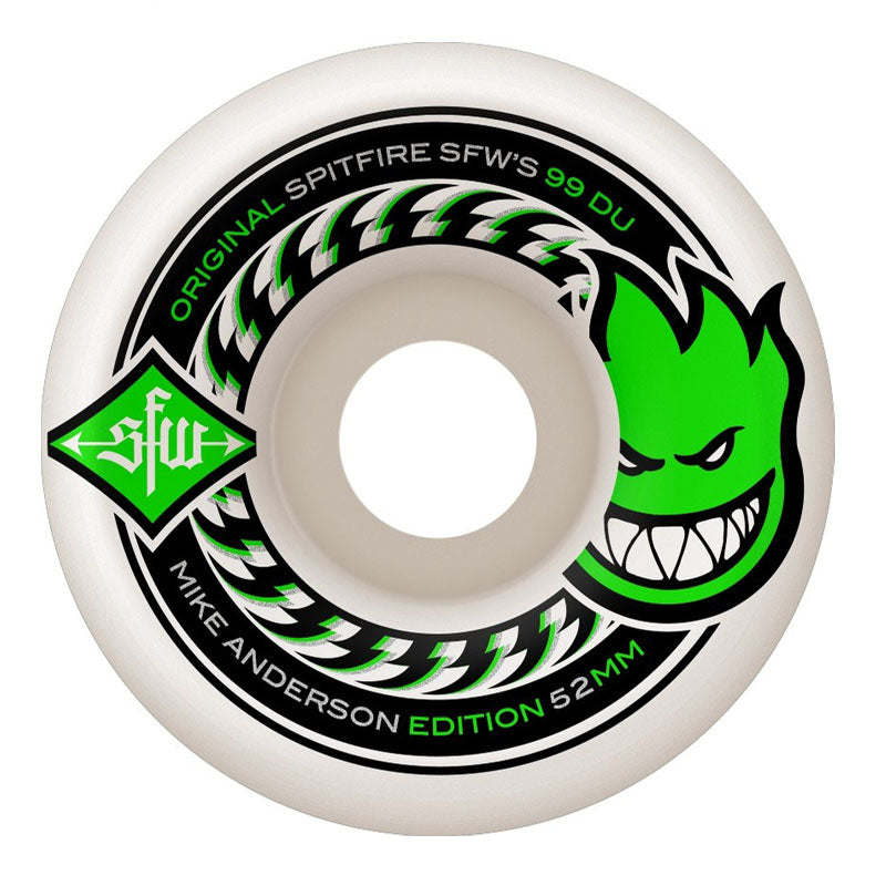 Spitfire Mike Anderson SFW 2 52mm Wheels