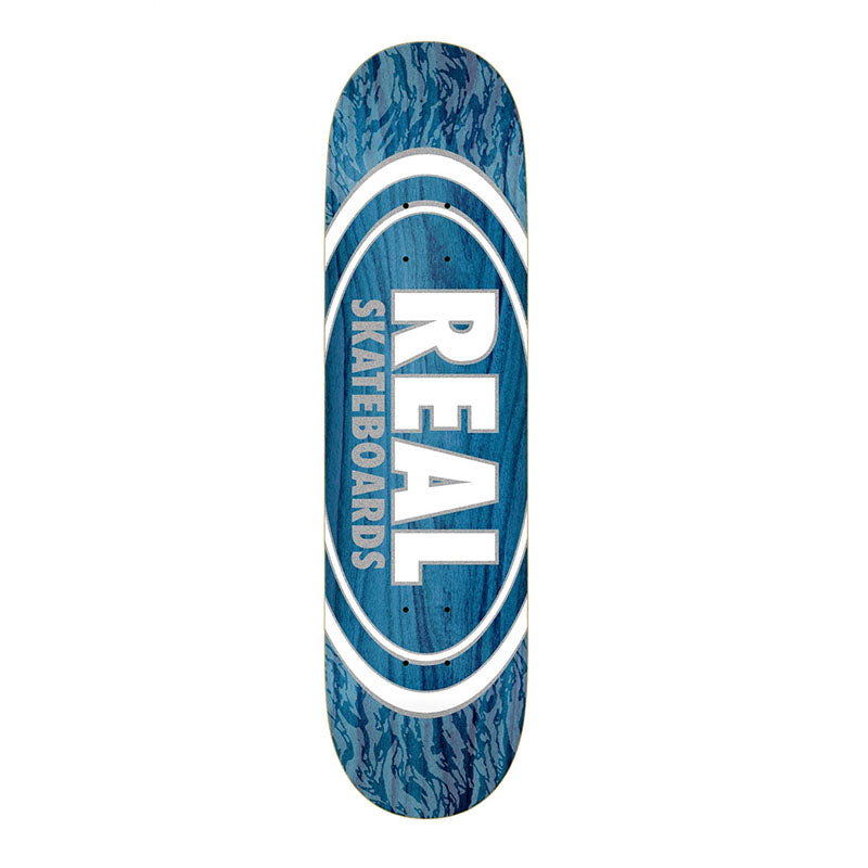 "REAL Skateboards Oval Patterns Slick 8.25"" Deck"