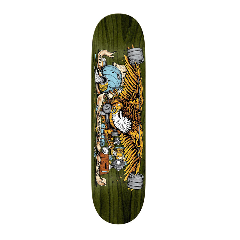 "Pumping Feathers 9.0"" Deck"