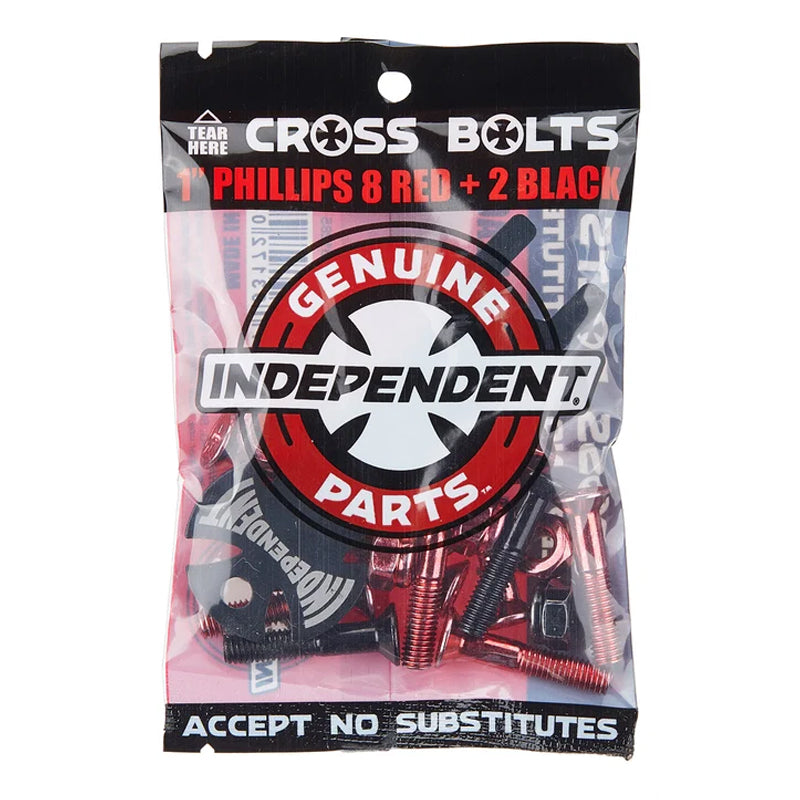 "Independent Genuine Parts 1"" Phillips Cross Bolts"