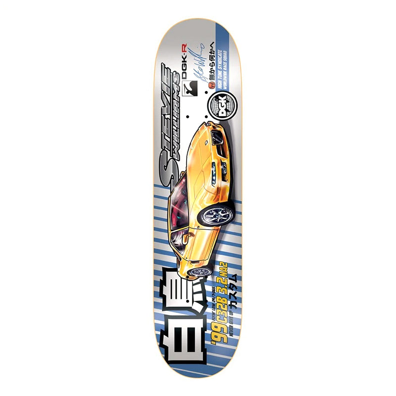 "DGK ""Tuner Williams"" 7.9"" Deck"