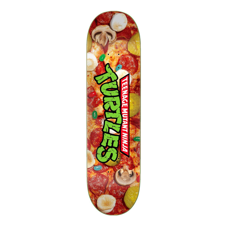 "Santa Cruz X TMNT Pizza Dude Everslick 8.25"" Deck"