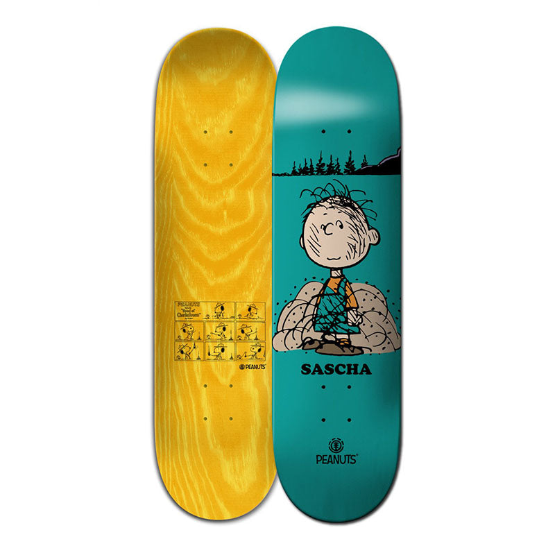 "Element Skateboards x Peanuts Pigpen Sascha Daley 8.5"" Deck"