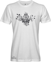 Crown and birds t-shirt