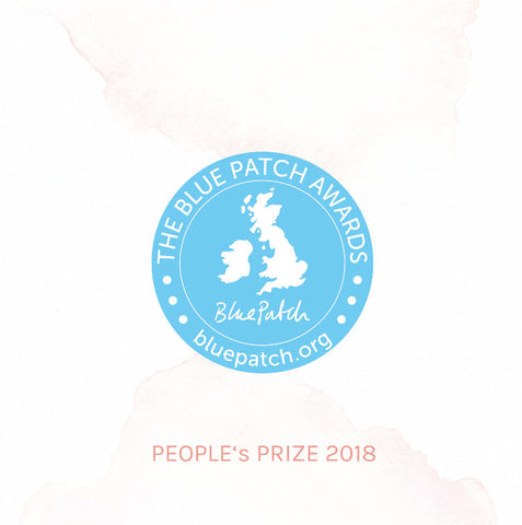 Edward Mongzar Blue Patch Peoples Choice Award Press Ethical London Independent Designer