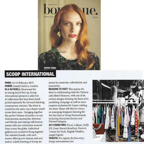 Edward Mongzar Boutique Magazine Press Ethical Sustainable London Independent Designer