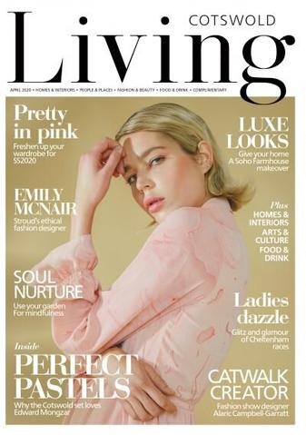 Edward Mongzar Cotswold Living Magazine Press Cover