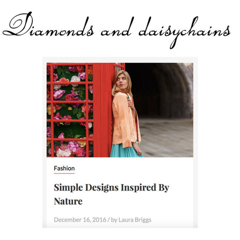Edward Mongzar Diamonds and Daisychains Blog Blogger Press Ethical Sustainable London Independent Designer
