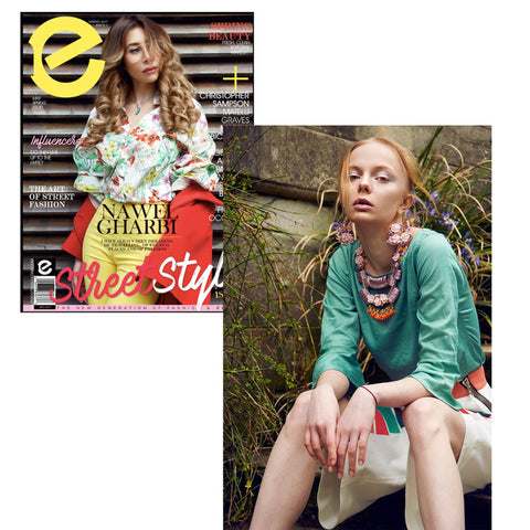 Edward Mongzar Elements Magazine Press Ethical Sustainable London Independent Designer