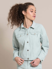 Blonde Gone Rogue Denim Jacket