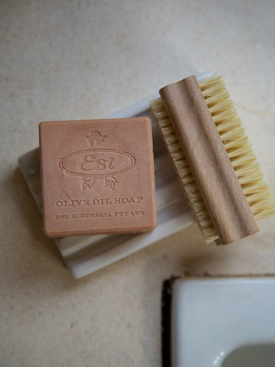 Extra Virgin Olive Oil Logo Soap