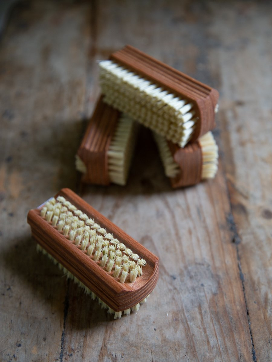 Beech Double Nailbrush