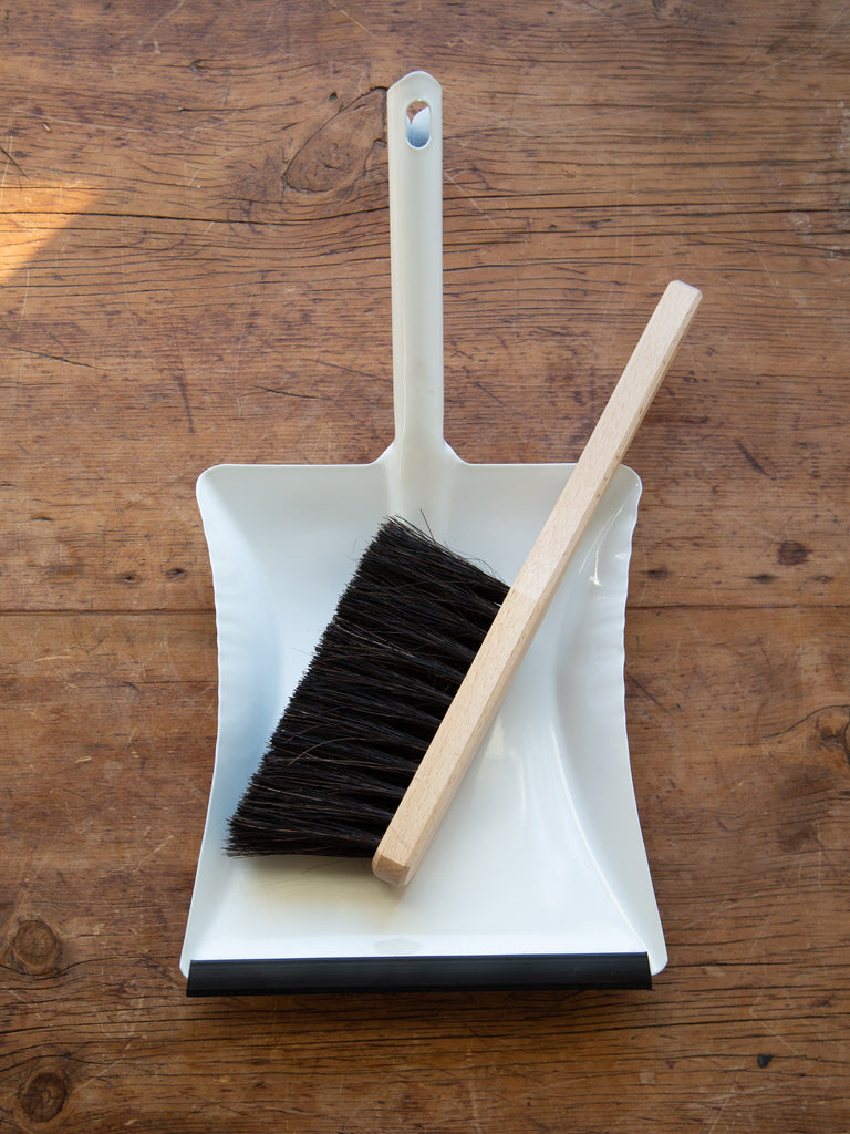 White Enamel Dust Pan