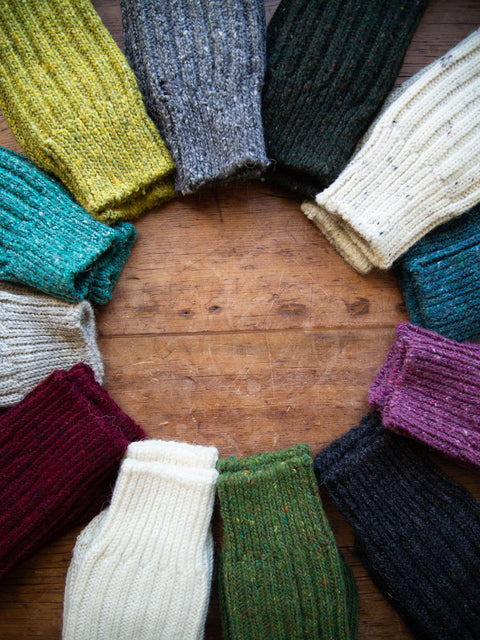 Small Irish Wool Socks