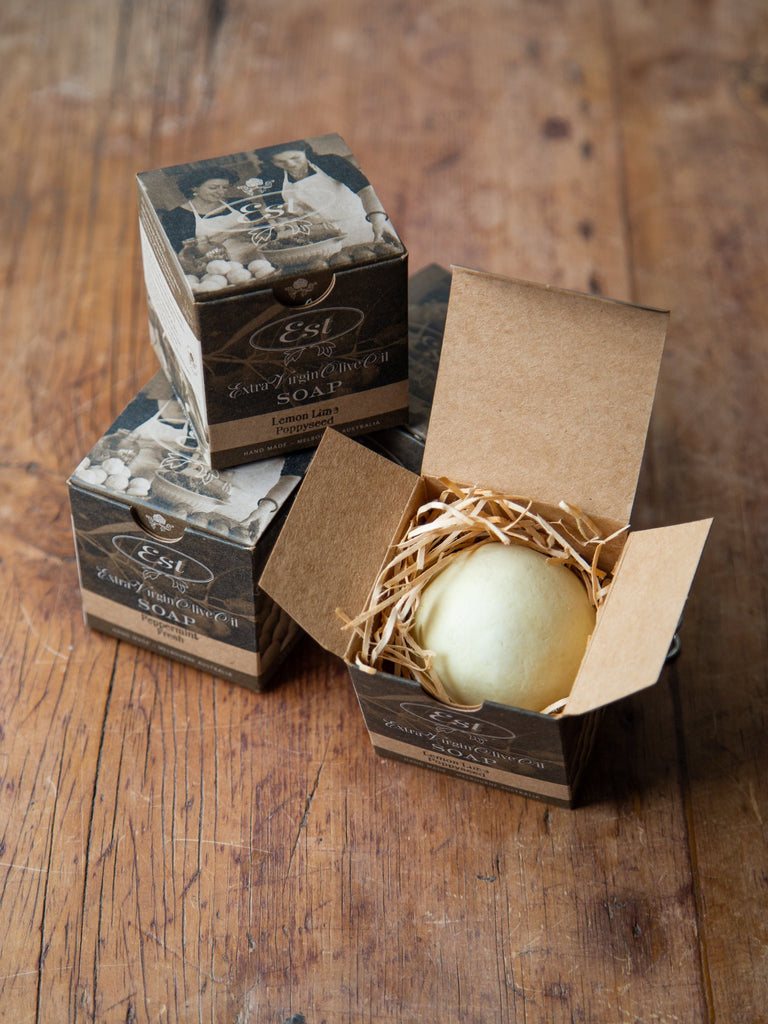 Small Boxed Round Soap