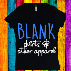 Blank Shirts and Apparel