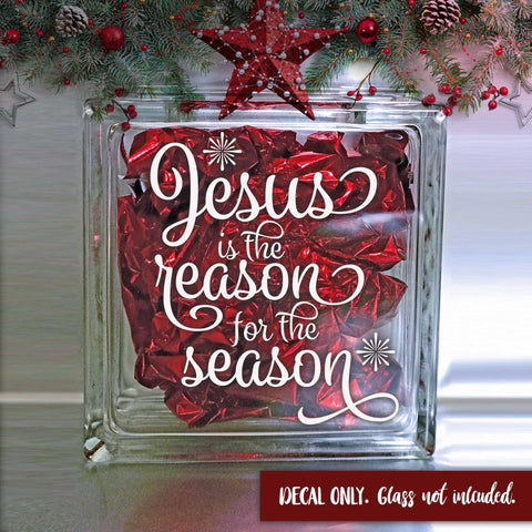 Jesus is the Reason for the Season Decal | Amber Rockstar