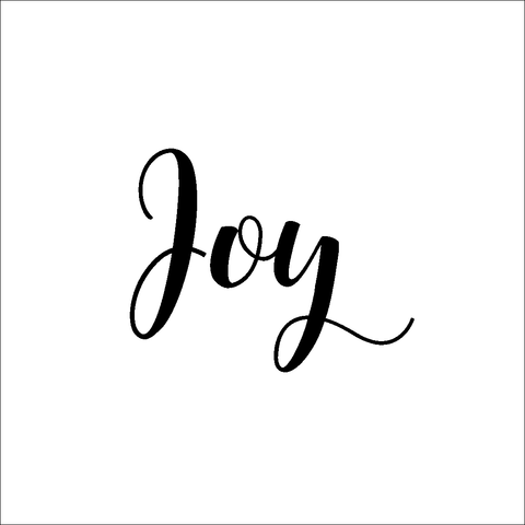 Joy Decal | Amber Rockstar