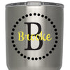 Initial Circle Custom Name Decal - Vinyl Decal Sticker - Monogram Name Yeti RTIC Tervis Cup Decor Decal