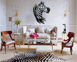 Zebra Head Decal | Amber Rockstar