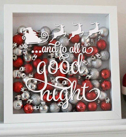 Santa Decal - And to All a Good Night | Amber Rockstar