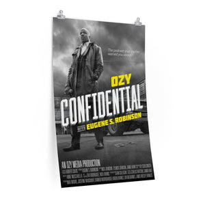 "OZY Confidential 24"" x 36"" Poster"