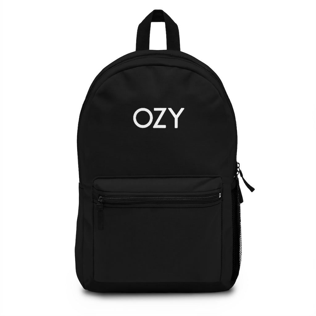 OZY Embroidered Backpack