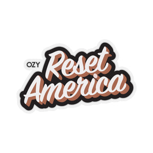 Reset America Stickers
