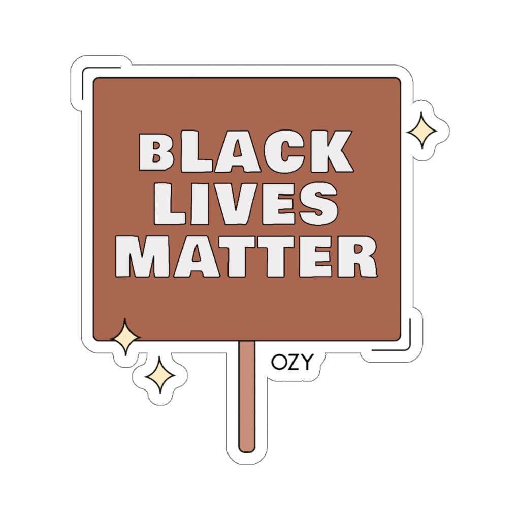 """Black Lives Matter"" Sticker"