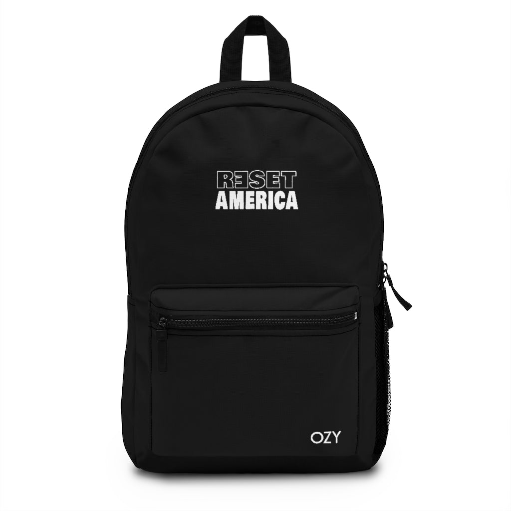 Reset America Embroidered Backpack