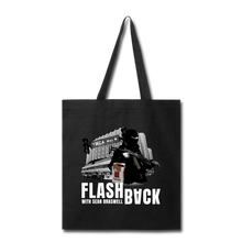 Load image into Gallery viewer, Flashback Tote Bag - black