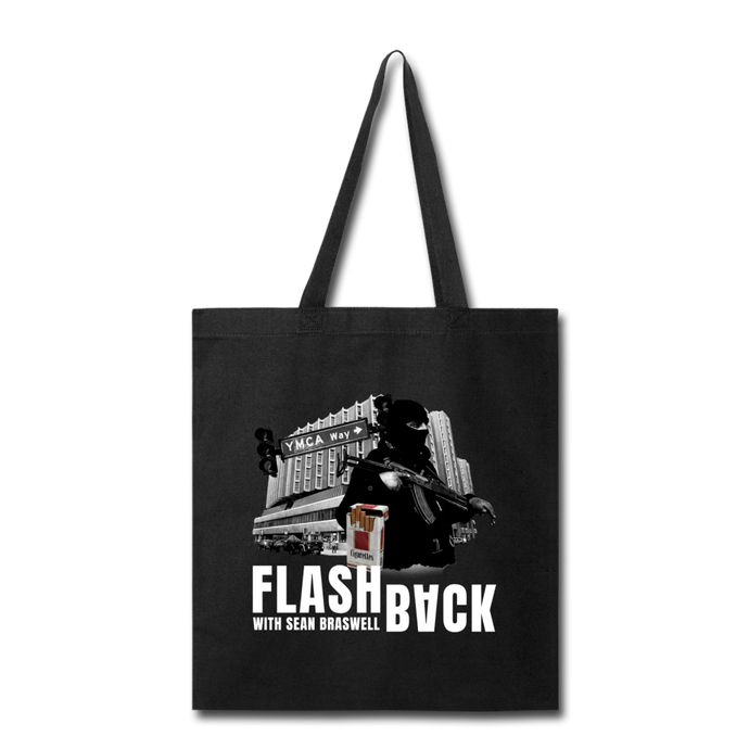 Flashback Tote Bag - black