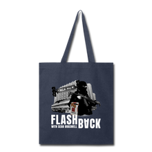 Load image into Gallery viewer, Flashback Tote Bag - navy