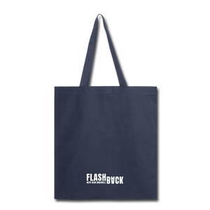 Flashback Tote Bag - navy
