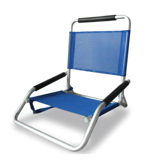 Beachkit Ostrich Concert Chair / Low Sand - Blue