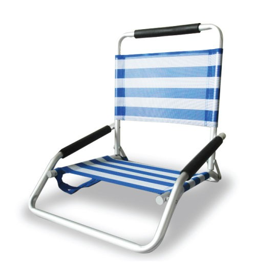 Beachkit Ostrich Low Sand Concert Chair - Stripe
