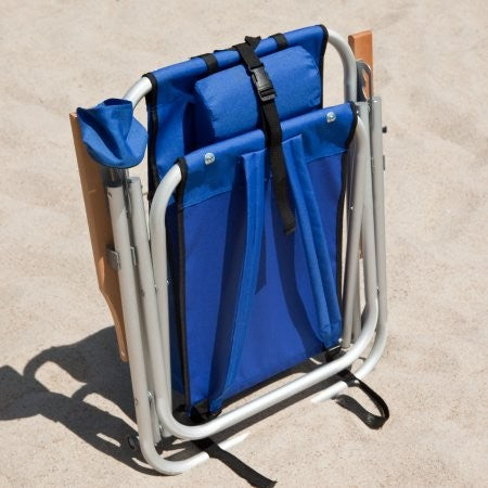 Beachkit Wearever Backpack Beach Chair Royal