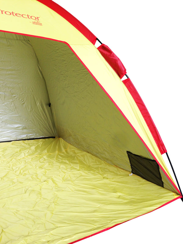 Shelta UV Protector Beach Tent Yellow and Red
