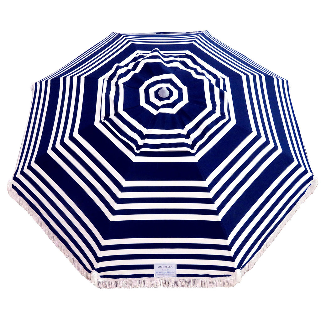 Hollie And Harrie 210cm Fringe Beach Umbrella Hello Sailor
