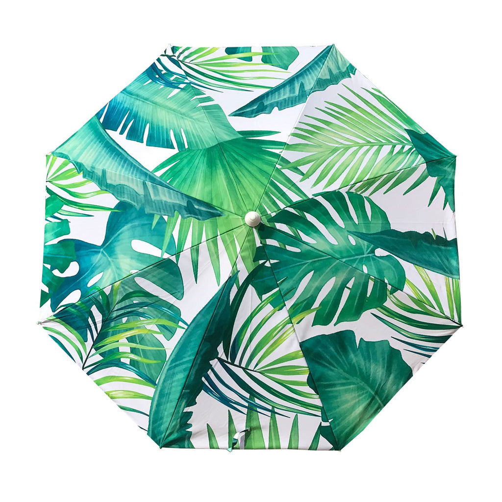 Shelta Avoca Beach Umbrella 220cm UPF50+ Palm Print