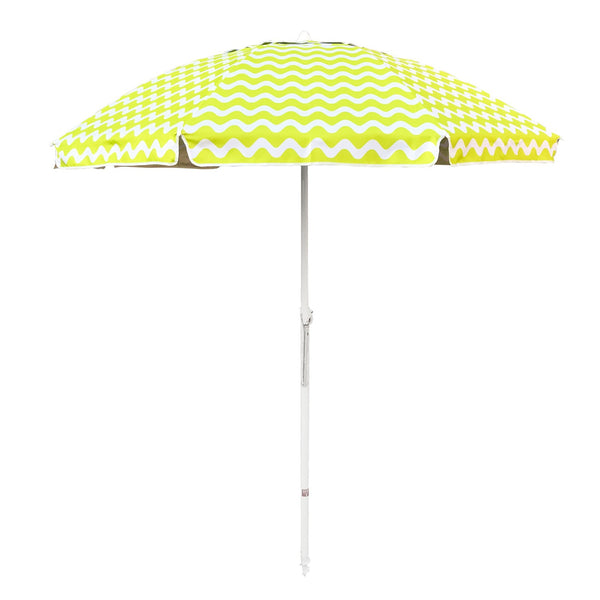Shelta Newport Chevron Wave 200cm Lime
