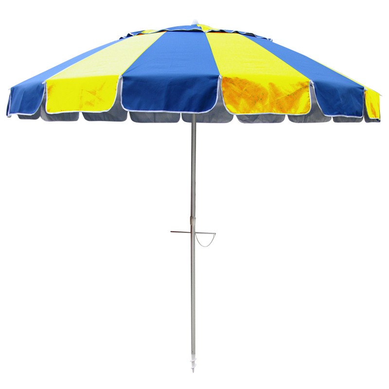Beachkit Carnivale 240cm Royal and Yellow