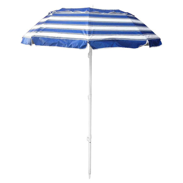 Beachkit Portabrella 195cm Navy and White