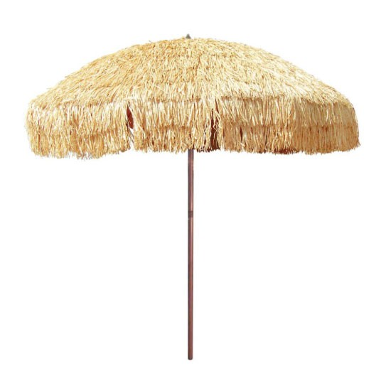 Beachkit Hula Thatch Patio Umbrella 240cm